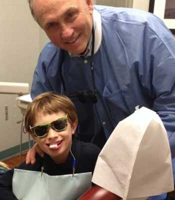 Dr. Pace with patient - Nashville, TN